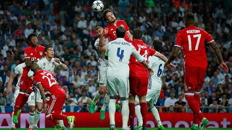 El Madrid gana en el global de cruces, pero el Bayern, mejor en semifinales