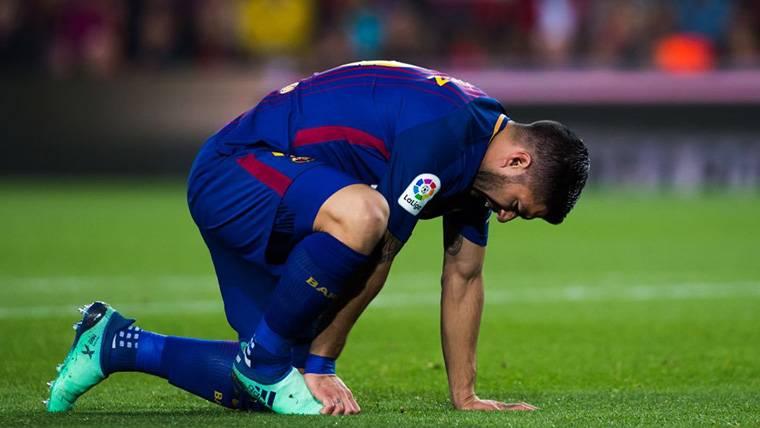 Ataque directo a Luis Suárez en la previa del Barça-Valencia