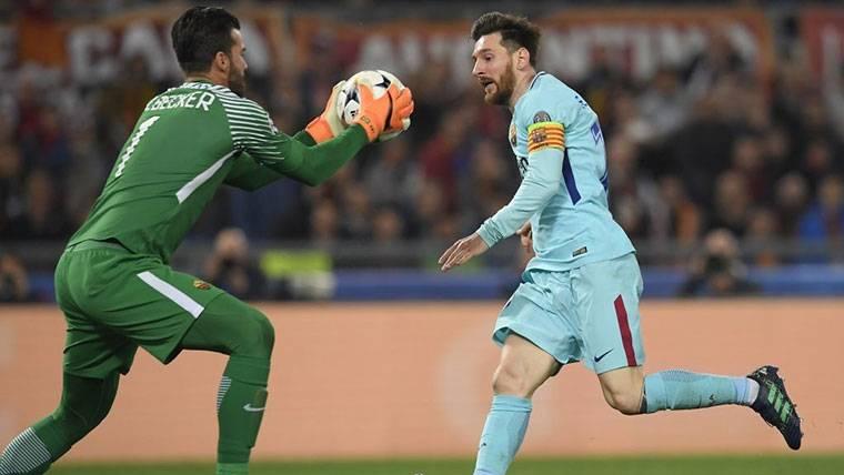 """Alisson aún celebra: """"Dimos una lección de fútbol al Barcelona"""""""
