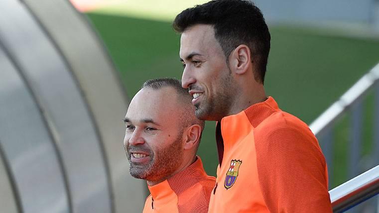 Sergio Busquets podría volver a ser titular contra el Valencia