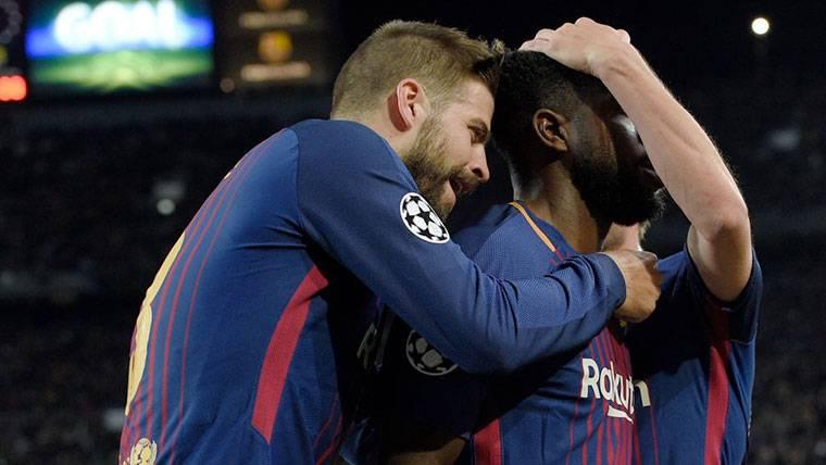 Umtiti enmenda sus errores con un gol importante al Valencia