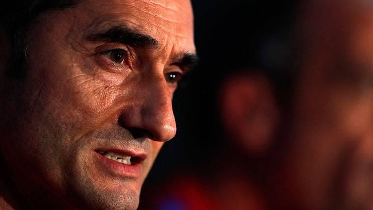 Valverde fue claro en sala de prensa