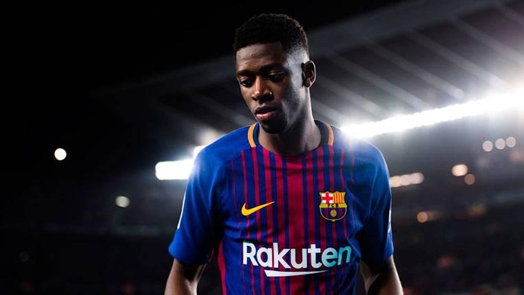 Dembélé siguió sin encontrar la inspiración ante el Valencia