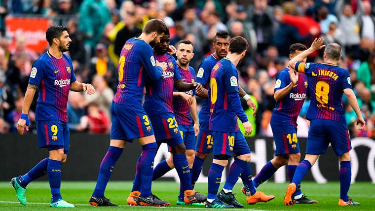 El Barça, en busca de su segunda Liga de los 100 puntos