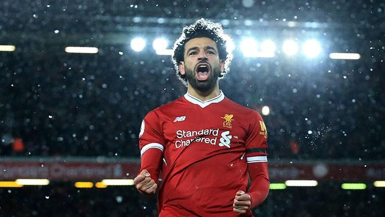 Salah sigue muy fuerte en la pelea por la Bota de Oro