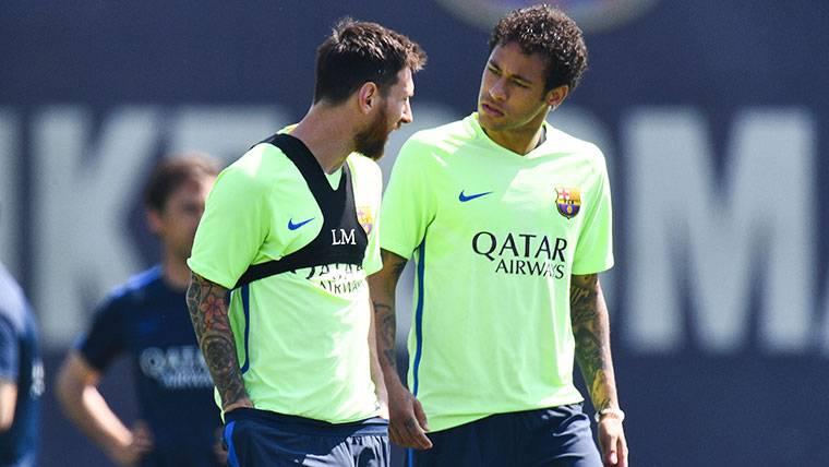 Leo Messi y Neymar forjaron una buena amistad