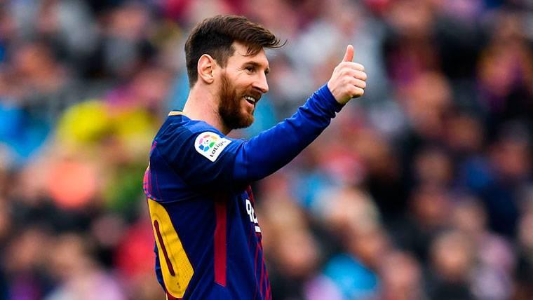 La prueba de que Leo Messi sigue enchufado al cien por cien