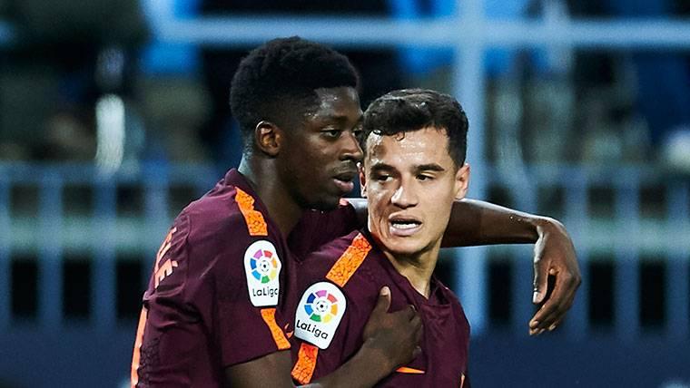 Coutinho y Dembélé no están corriendo la misma suerte
