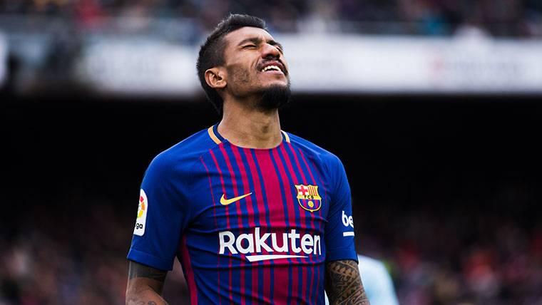 Paulinho demostró ante el Valencia lo que al Barça le faltó ante la Roma
