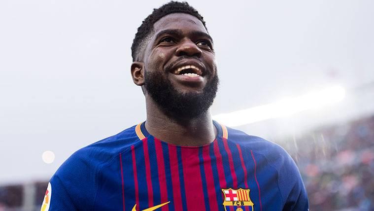 El Barça, más optimista tras su última reunión con Samuel Umtiti
