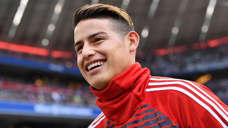 ¡Valderrama apuesta que James se vengará del Madrid con un gol!