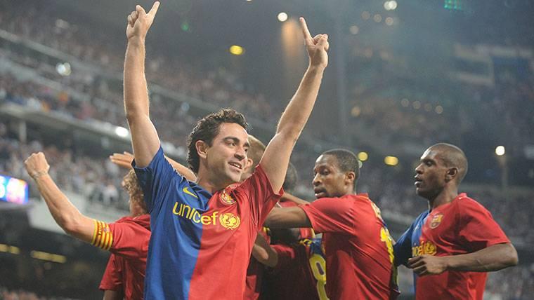 Xavi desvela cómo se gestó el 2-6 del Clásico de 2009 en Liga