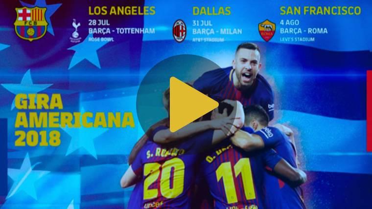 Ya hay fecha para los partidos de pretemporada 2018 del Barça