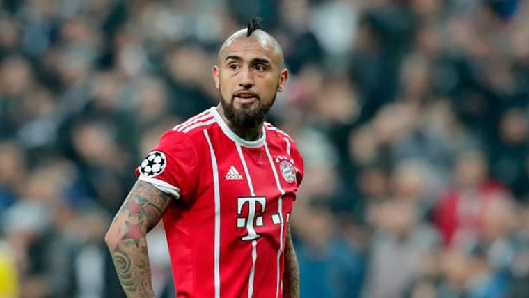 Las opciones del Bayern para suplir a Arturo Vidal ante el Madrid