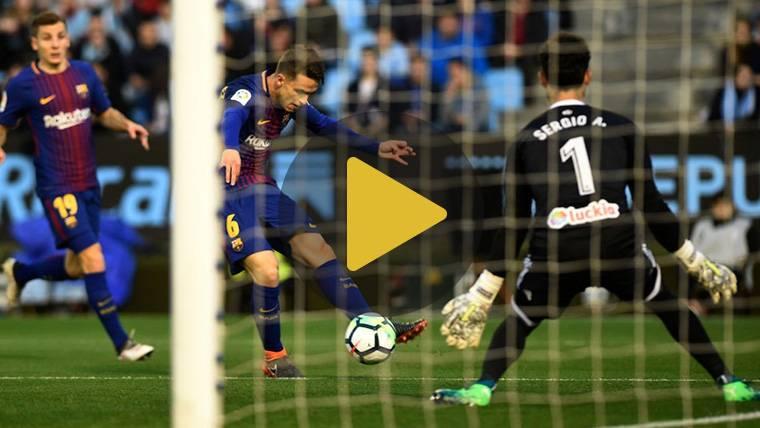 Vídeo resumen: Celta de Vigo 2 FC Barcelona 2 (LaLiga J33)