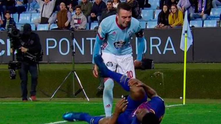 "Califican de ""racista"" a Aspas tras un incidente con Yerry Mina"