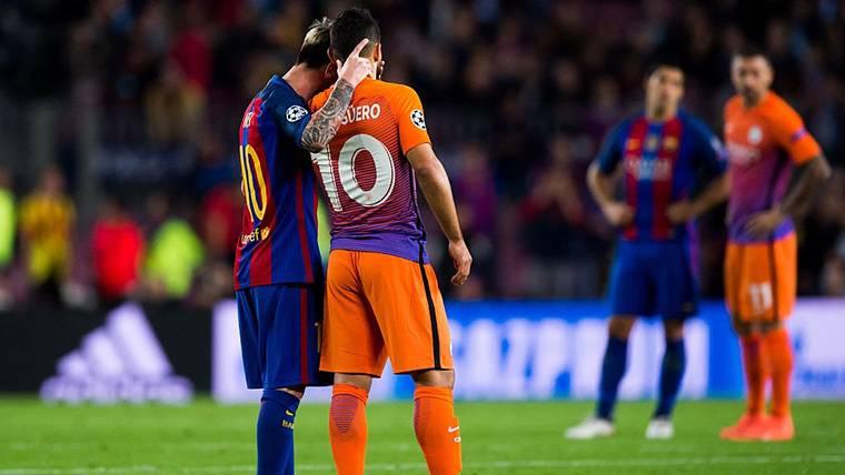 ¡El padre de Agüero no descarta que fiche por el Barça de Messi!