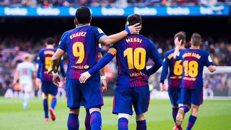 El Barça no es capaz de ganar partidos sin Messi y Luis Suárez