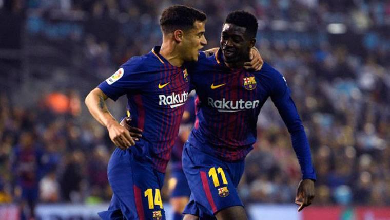 La alineación del Barça ante el Celta es 146 'kilos' más cara que el once de gala
