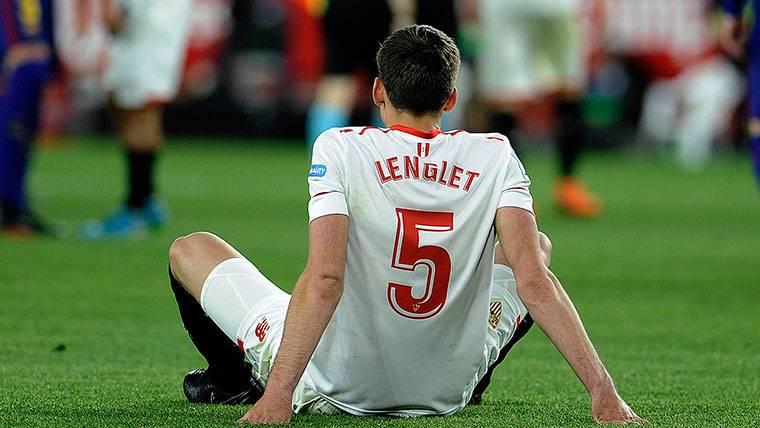 Desvelan una reunión de Lenglet con el Barça para cerrar su fichaje