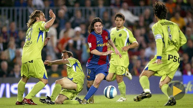 Rememora el mágico gol de Messi ante el Getafe: se cumplen 11 años