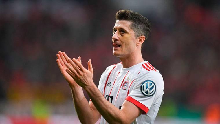 """Lewandowski al vestuario del Bayern: """"Quiero irme al Real Madrid"""""""