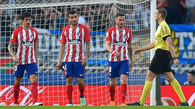 La Real Sociedad se aprovecha del Atlético y acerca LaLiga al Barça (3-0)