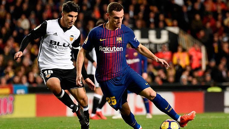Así está el futuro de Thomas Vermaelen en el FC Barcelona
