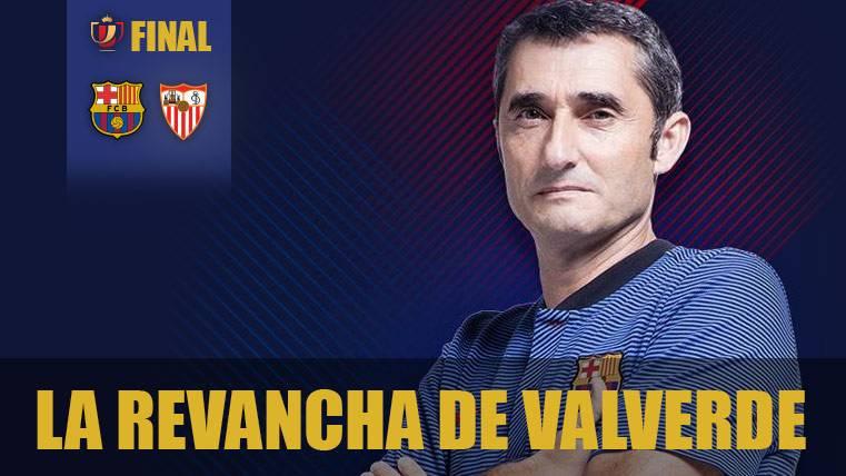 Valverde prepara su desquite contra el Sevilla y la Copa del Rey