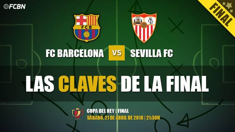 Las cinco claves del Sevilla-Barça de la final de Copa del Rey