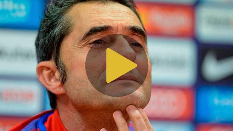 """Valverde: """"La final no nos ha caído del cielo, queremos aprovechar la oportunidad"""""""