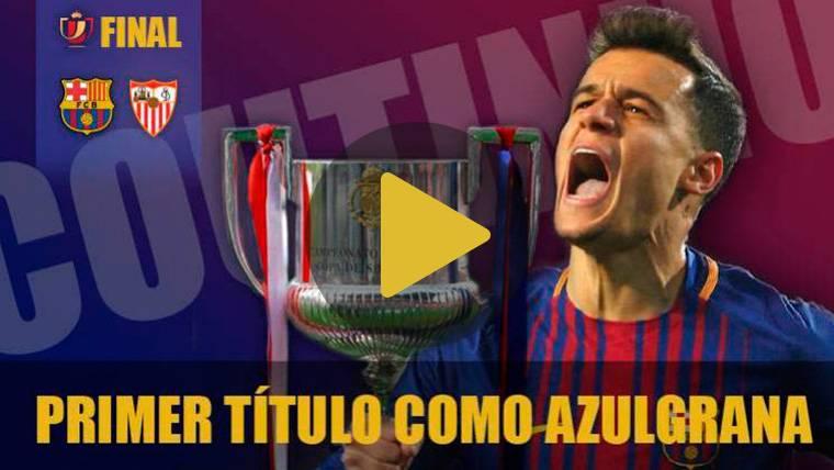 Philippe Coutinho, hambriento: Quiere su primer título con el Barça