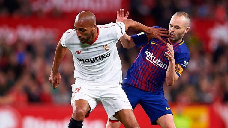 Iniesta puso el cuarto ante el Sevilla... ¡No te vayas del Barça!