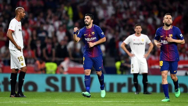 Dardo de Luis Suárez al Real Madrid tras la final de Copa