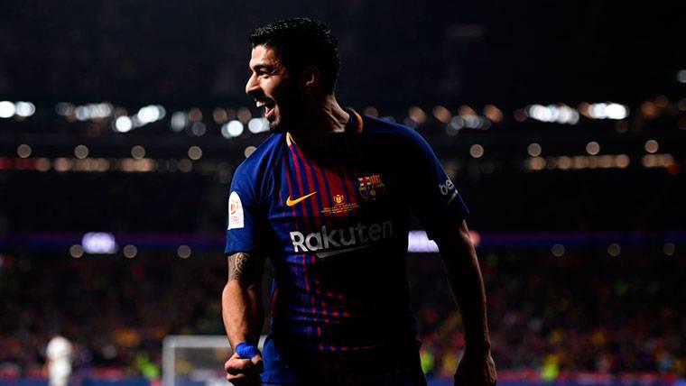 Luis Suárez acabó con su maldición en finales de Copa del Rey