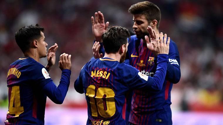El 'tweet' de Piqué para reflejar la épica copera del FC Barcelona