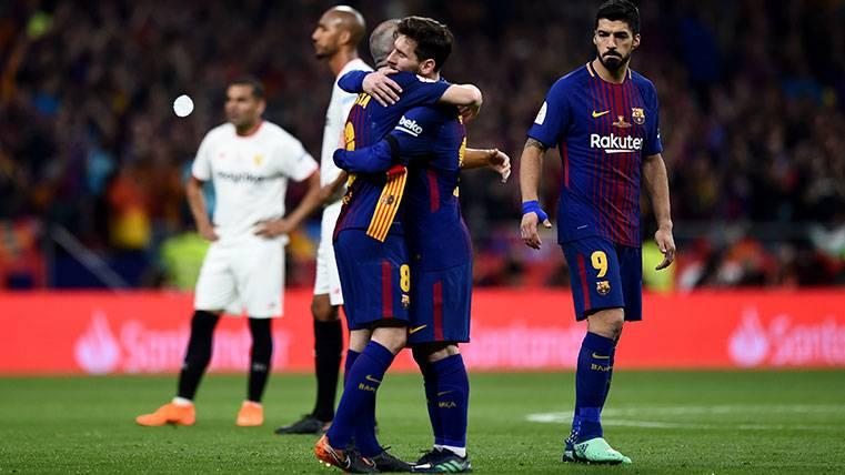 Leo Messi convirtió en protagonista a Andrés Iniesta en su gran noche