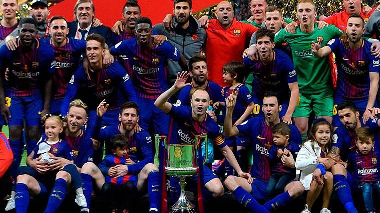 El Barça también es el Rey de Copas de las grandes ligas europeas