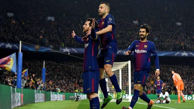 Jordi Alba, sin competencia: El mejor lateral zurdo, en el Barça