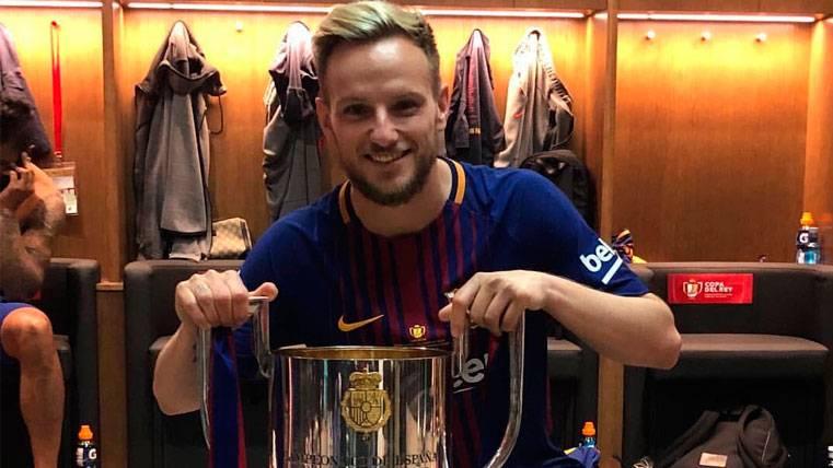 El dato que convierte a Ivan Rakitic en un verdadero talismán para el Barça