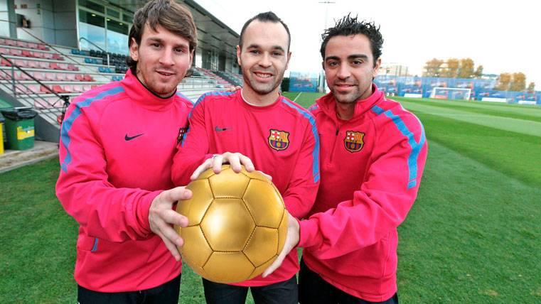 La respuesta del Barça a France Football por el Balón de Oro de Andrés Iniesta