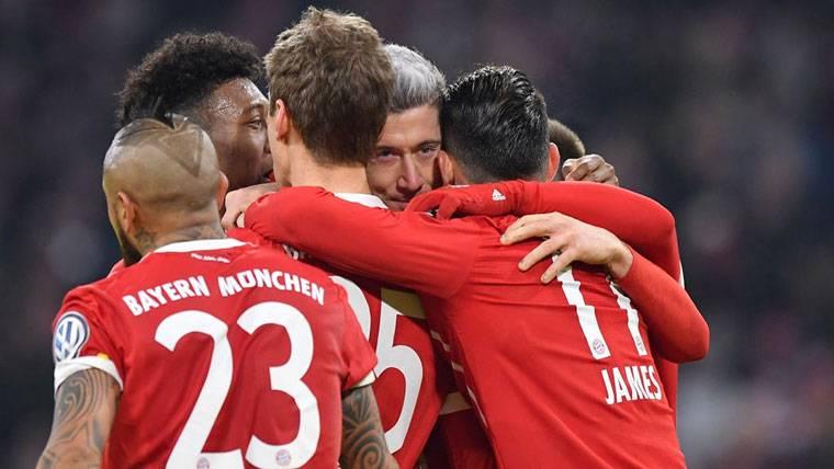 El Bayern Múnich, mermado por 4 bajas contra el Real Madrid