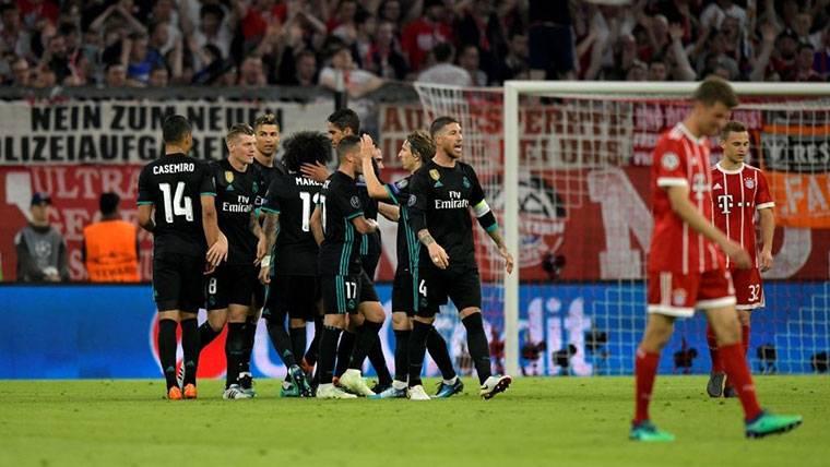 El Real Madrid decanta las 'semis' ganando en el Allianz (1-2)
