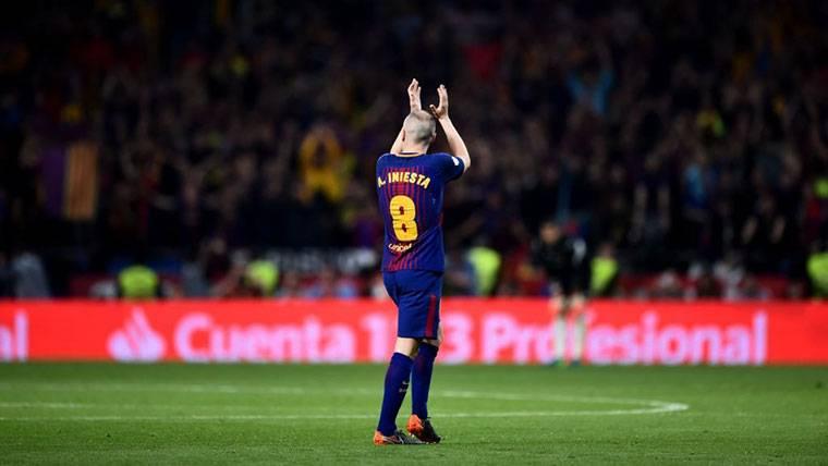¡Andrés Iniesta anunciará este viernes que deja el Barcelona!