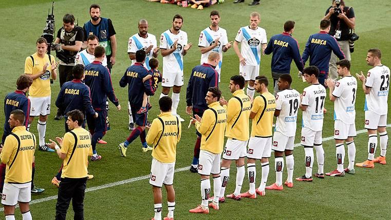 El Deportivo confirma que hará el pasillo al Barça por la Copa del Rey