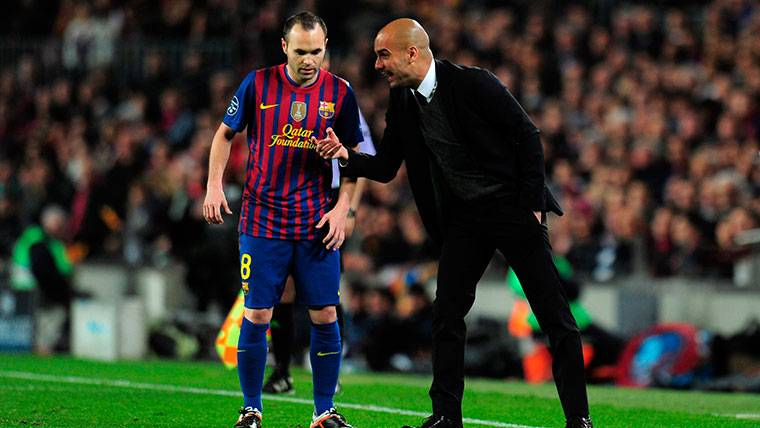 Pep Guardiola ya vaticinó lo que sería Iniesta para el fútbol