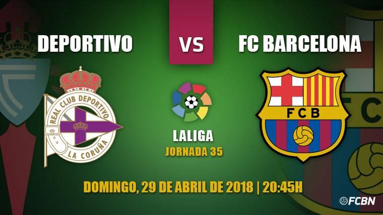 El Barça visita al Dépor para sentenciar LaLiga y hacer 'doblete'