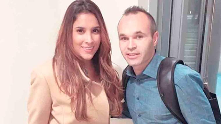 Sorprendente mensaje de la ex pareja de James a Andrés Iniesta