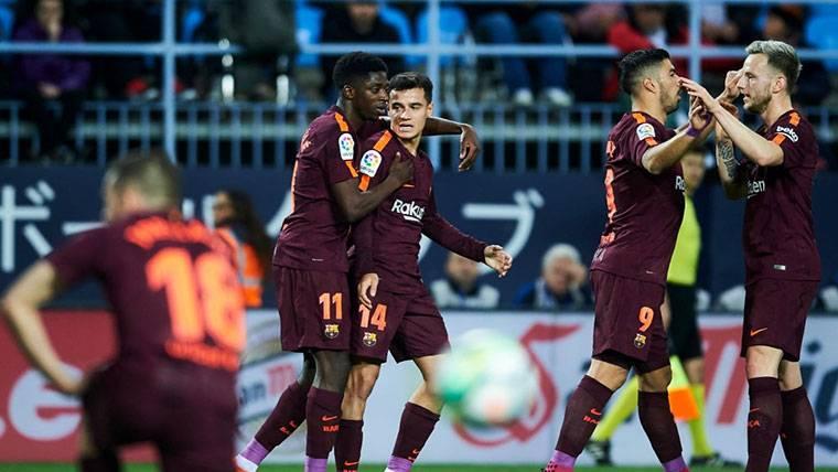 Coutinho inició la fiesta del Barça con un golazo al Deportivo