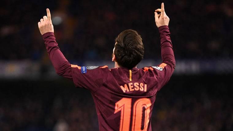 JUGADÓN: Pase delicioso de Suárez para que Messi aceche a Salah